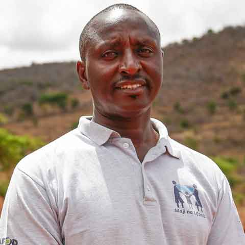 George, Project Planner for Kitui