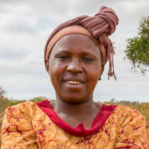 Stella, a farmer from Kitui