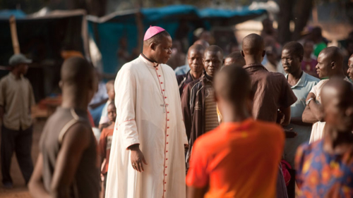 Archbishop Dieudonne Nzapalainga, one of the founders of the Interreligious Peace Platform in CAR.