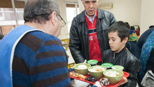 CAFOD's sister agencies in the Caritas network in Europe provide aid to migrants and refugees
