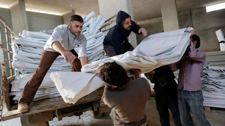 Our local church partners are distributing aid in Lebanon and Turkey
