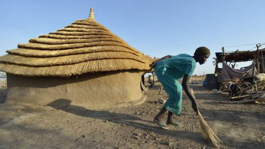 Severe drought and conflict in South Sudan have left millions of vulnerable people in need of humanitarian aid.