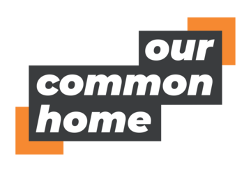 Logo for the 2019 climate campaign - Our Common Home