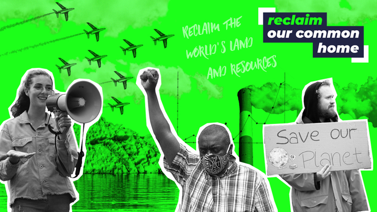 CAFOD RECLAIM OUR COMMON HOME