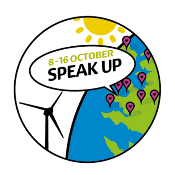 Join the Speak Up week of action on climate change and energy