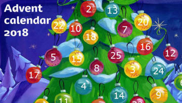 CAFOD's Advent calendar for young people.