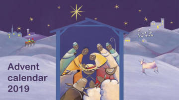 Advent calendar 2019 for young people