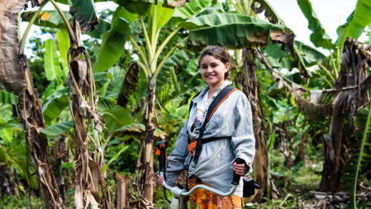 Go green with CAFOD and support communities like Luana's to protect the rainforest.