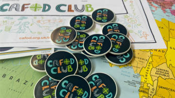 Join the CAFOD club and order a free box of resources.