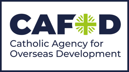 CAFOD logo with outline