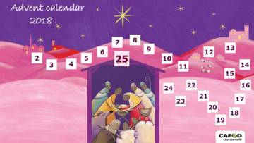 CAFOD's Primary Schools Advent Calendar 2018