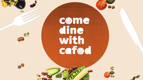 Come Dine with CAFOD banner