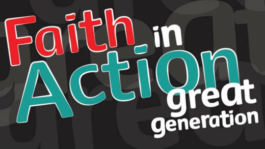 CYMFED Faith in Action Award scheme volunteering resources for young people and reflections for youth leaders.