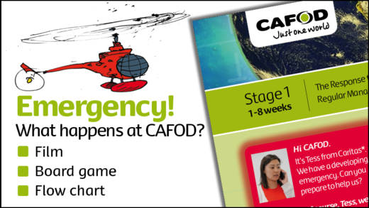 CAFOD emergency game for lessons