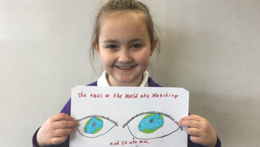 Join our Eyes of the World climate campaign.