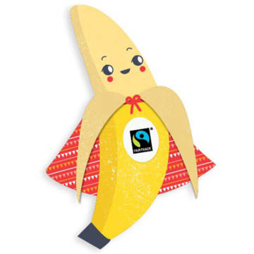 Pablo the fairtrade banana