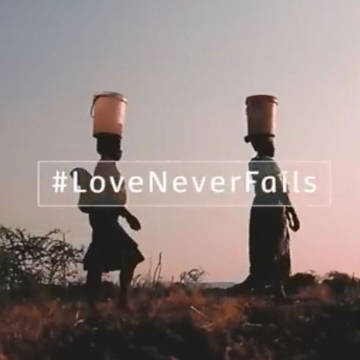 Love Never fails reflection films for CAFOD's Faith in action award resources
