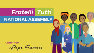 Watch our latest national assembly for schools on Fratelli Tutti