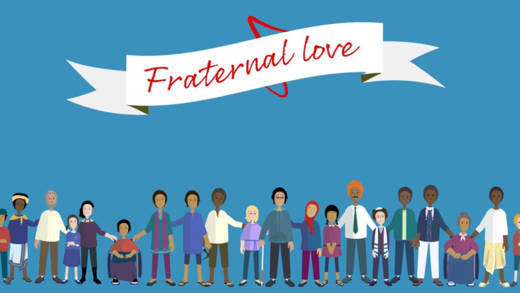 CAFOD's animation on Fratelli Tutti, Pope Francis' encyclical on fraternal love