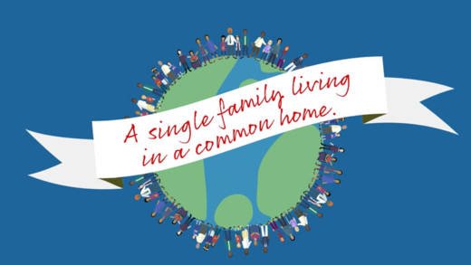 Watch CAFOD's animation about Pope Francis' encyclical Fratelli Tutti, in which he calls on us all to act as a global family.
