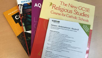 CAFOD's GCSE RE textbook supplements for Catholic schools