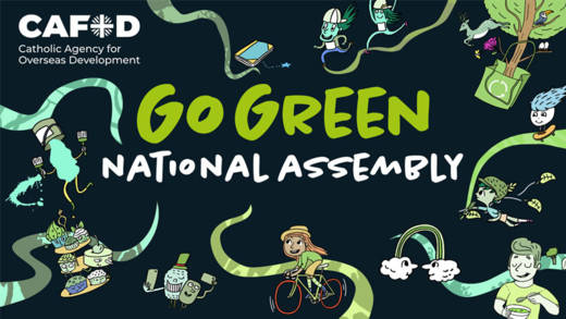 Join CAFOD's Go Green national assembly for Harvest.
