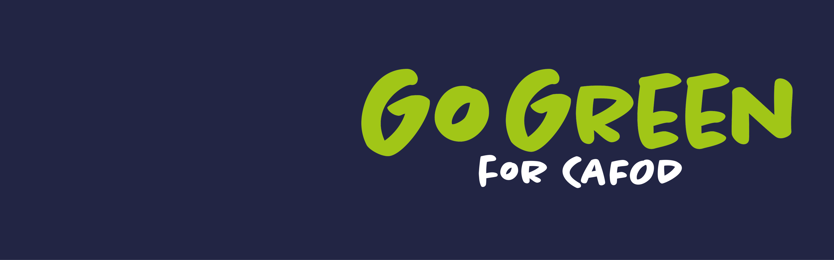 This Harvest Family Fast Day, get involved in CAFOD's Go Green fundraiser