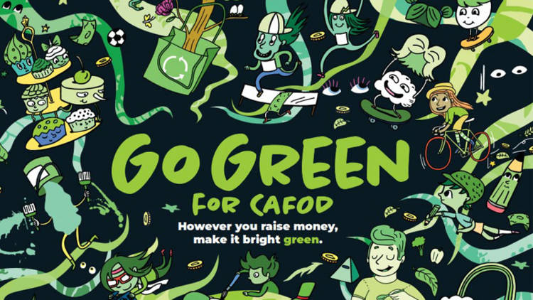 Go Green for CAFOD this Harvest Family Fast Day