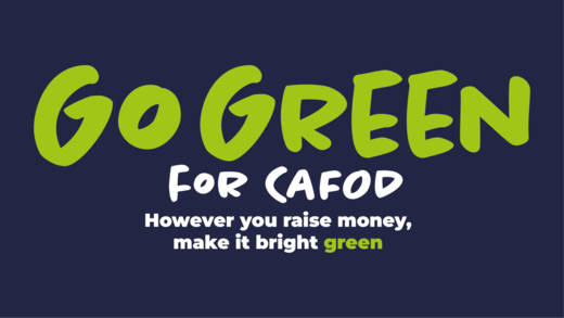 Join our Go Green fundraiser in schools this Harvest