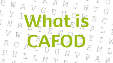 Wordsearch about CAFOD for children.