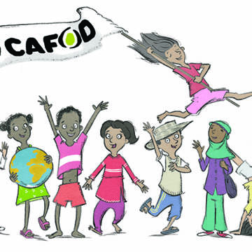 We are CAFOD illustration