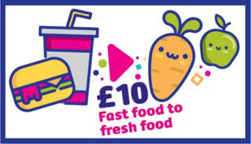 Turn fast food into fresh food this Lent.
