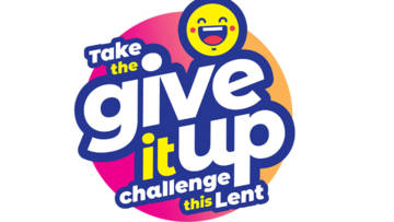Take the give it up challenge this Lent!