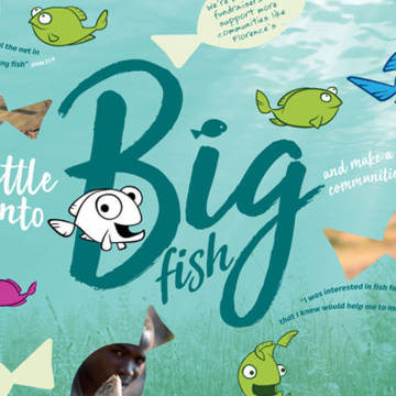 Turn little fish into Big fish this Lent with our learning and fundraising materials.