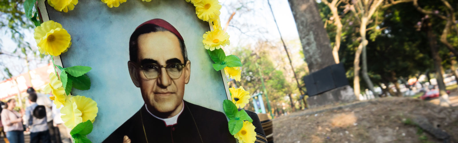 CAFOD partner Oscar Romero is going to be canonised on 14 October.
