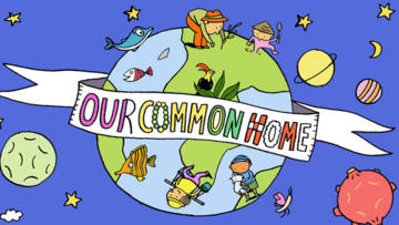 Pope Francis asks us all to care for our common home.