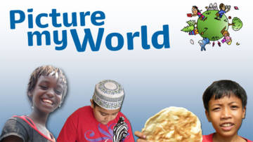Image of Picture my World, CAFOD's website with resources for children