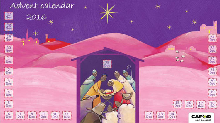Advent calendar for primary schools