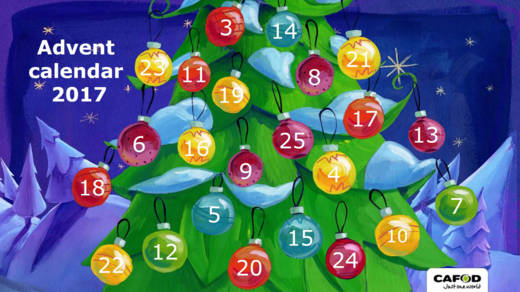 CAFOD's Primary Schools Advent Calendar 2017