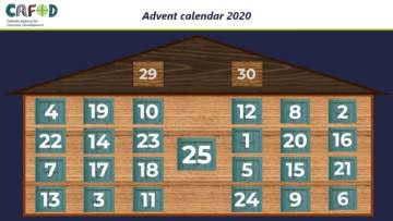 CAFOD Advent calendar for Primary schools