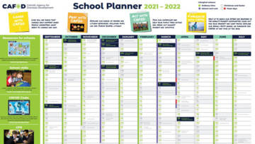 Planning for the academic year? Use our school wallplanner.