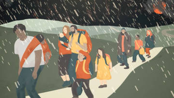 Watch our animation about refugees