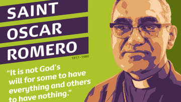 Order our Saint Oscar Romero poster to use in your school, group or parish.