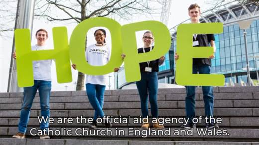One image from our What is CAFOD? video for young people.
