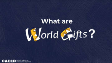 World Gifts assembly for young people