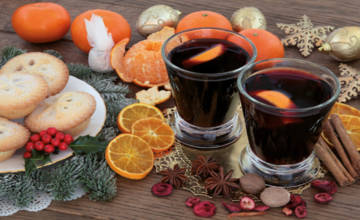 Mulled pies and mince wine
