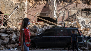 Explosions in Beirut devastated homes and buildings