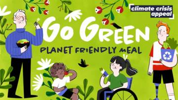 Go Green Planet-Friendly Meal