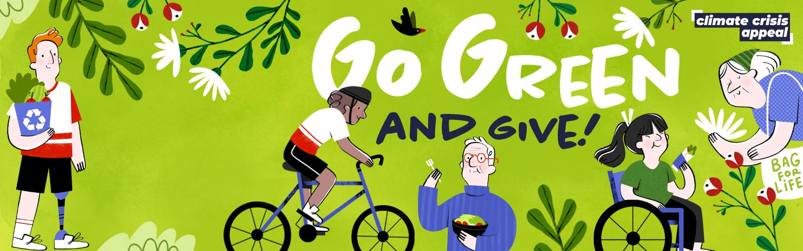 Go Green and Give