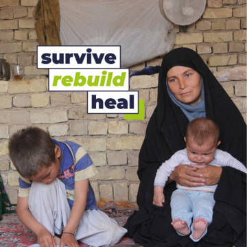 Help people suffering from coronavirus to rebuild their lives